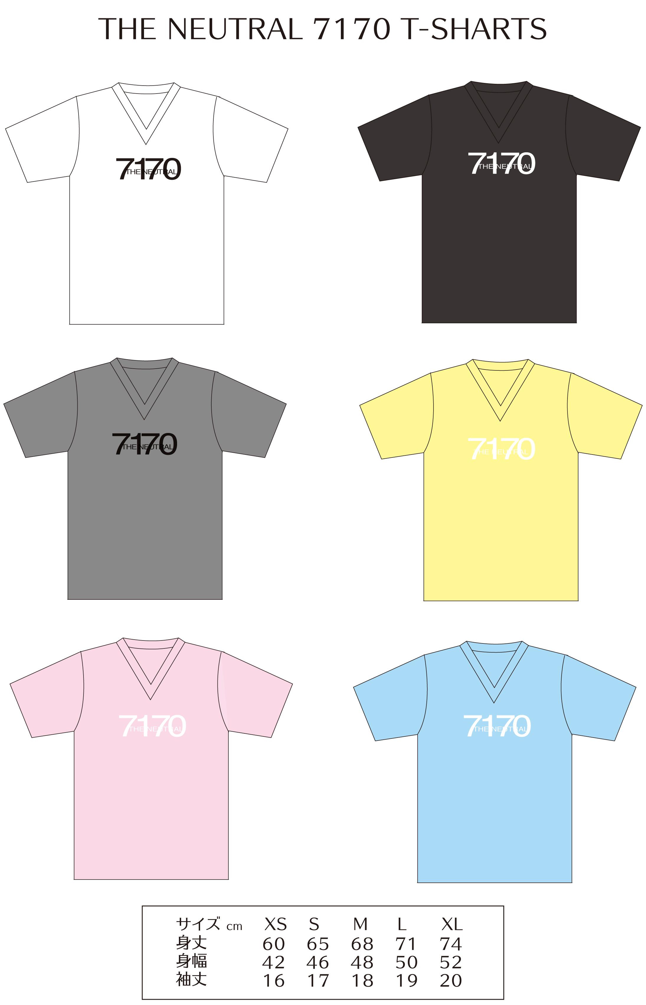 『7170』NEW Tシャツ