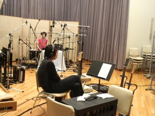 レコーディングスタジオって