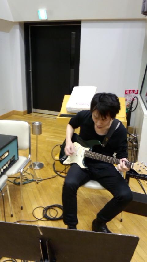 ギターとベースの音決め